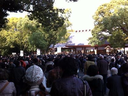 $へっぽこな日々-熱田神宮初詣004