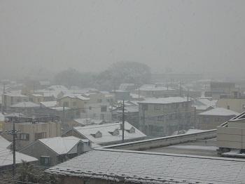 雪景色 裏