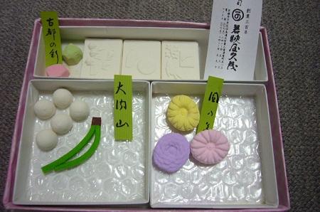 干菓子 古都の彩