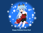 天体のメソッド 自作壁紙その3(ノエル/クリスマスバージョン)