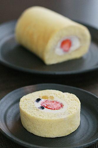 ワンコ用ロールケーキ
