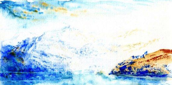 青い山038