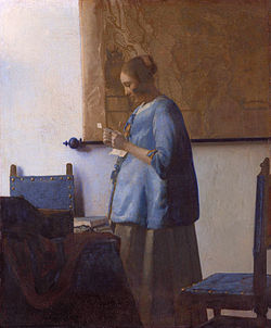 250px-Vermeer,_Johannes_-_Woman_reading_a_letter_-_ca__1662-1663