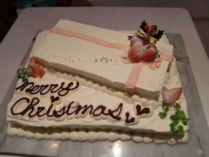 こんなケーキも登場