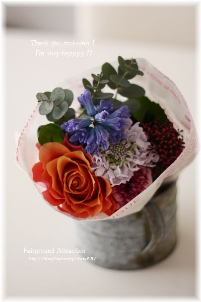 215mokoさん プレゼントお花