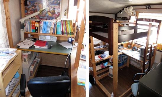子供部屋の6畳一間を、2.4畳二間に改造する|人生に出会う7WAYS+α