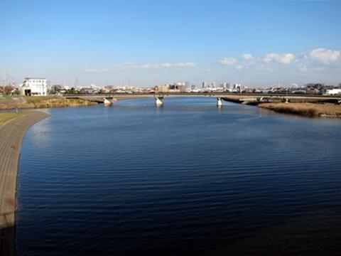 鶴見川にかかる橋