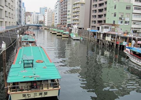 神田川屋形舟