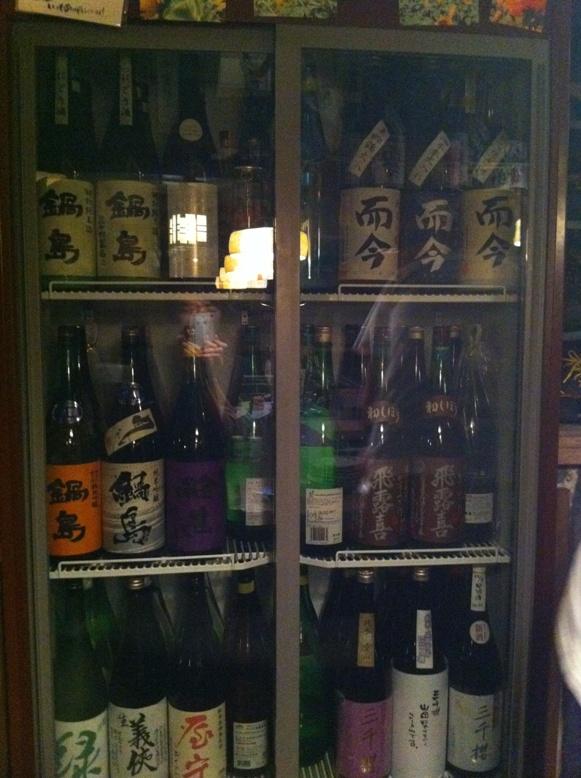 IMG_0552ひまりや忘年会出品酒冷蔵庫