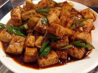 大きな豆腐ですが…マーボー豆腐ですㅎㅎ