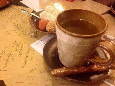 伝統茶で体もポカポカ