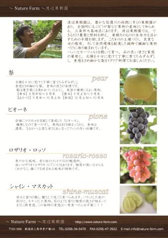 渡辺果樹園食材紹介20120914