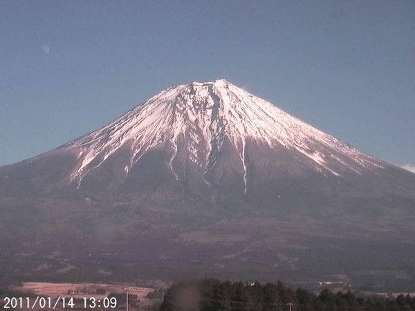 2011年1月14日 富士山