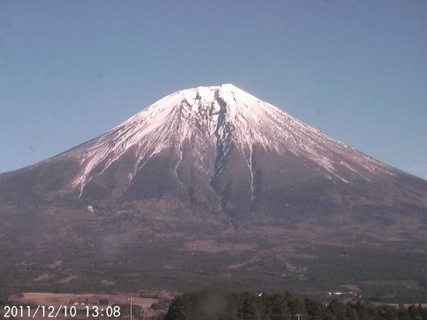 2011年12月10日 富士山