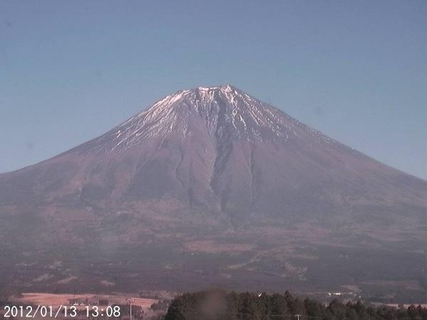 2012年1月13日 富士山