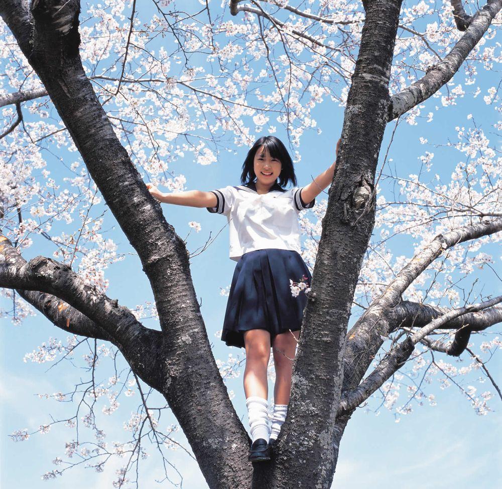 桜の木の上 黒川芽以