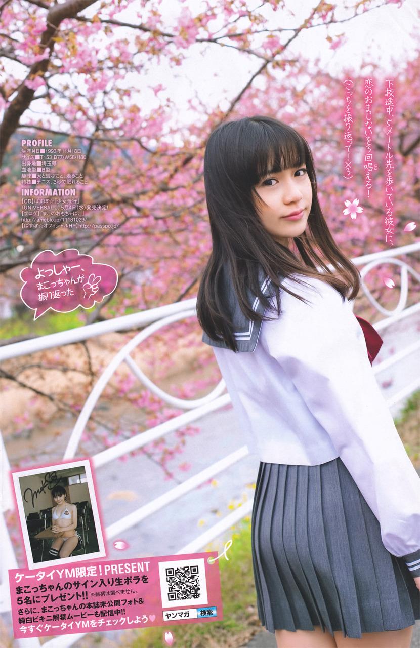 奥仲真琴 桜
