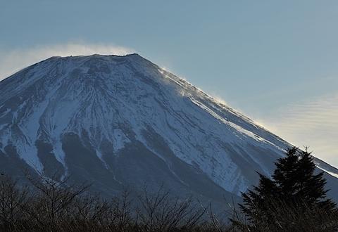2012年1月27日 富士山