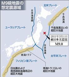 (3)次はここで巨大地震「M9」が起きる!専門家が想定域など分析  2011.12.27