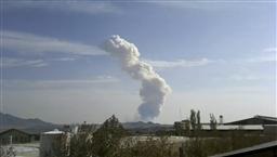 大きな爆発