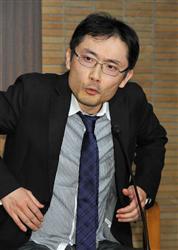 芥川賞を受賞した田中慎弥
