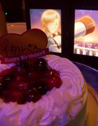 格のバースデイケーキ