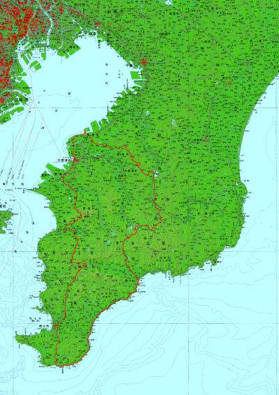 Audax Japan Chiba-map