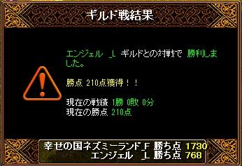 13.12.8エンジェル様 結果
