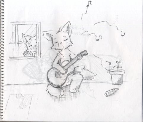 下手ギター