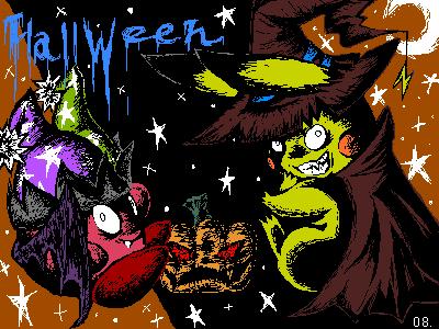 過去のハロウィン絵1
