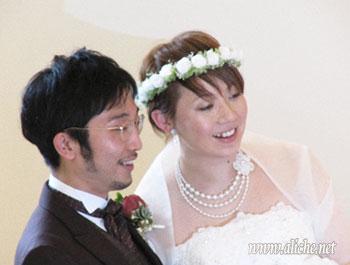 花冠白 フルタイプお客様のお写真
