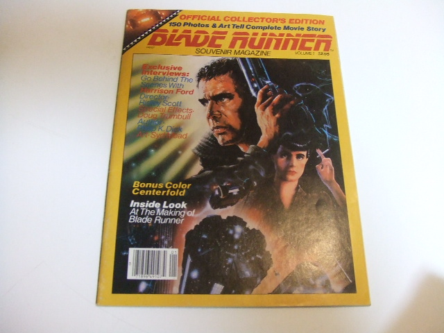 ALL THAT BLADE RUNNER     by NYzeki-souvenir magazine