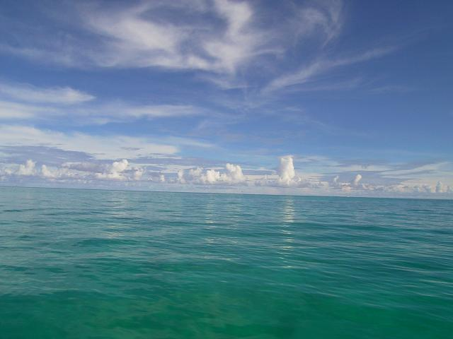 パラオ海風景その2
