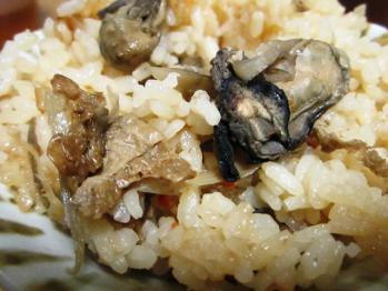 牡蠣飯 2012.01.15