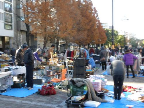 横浜大通公園フリーマーケット
