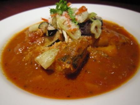 太刀魚のタマリンドカレー