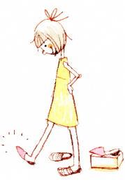 女性illust-shoeshop2