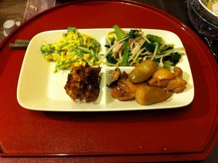 10月03日夕食