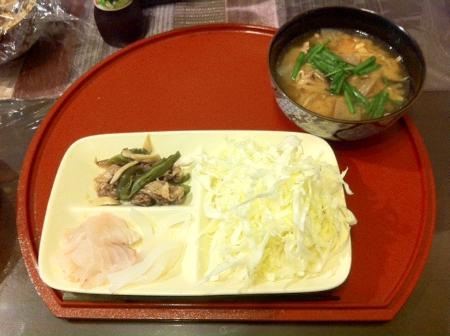 2011.10.12夕食