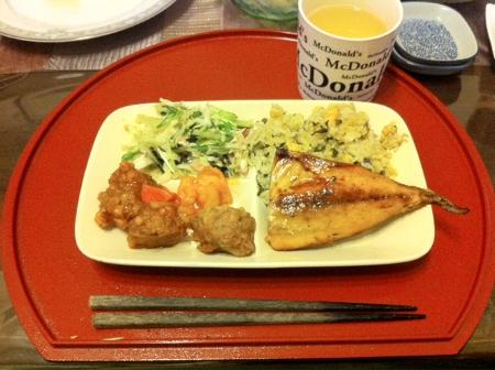 2011.10.18夕食