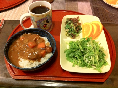 2011.10.21夕食