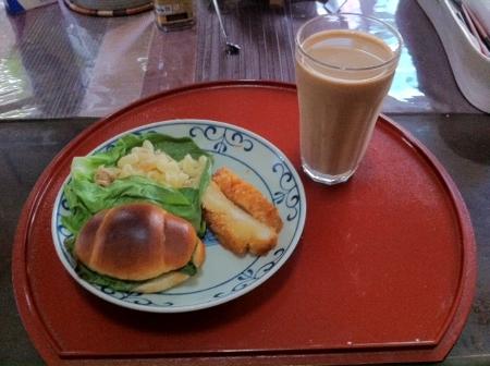 2011.10.25昼食
