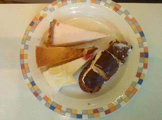 スイーツパラダイス 旦那の皿