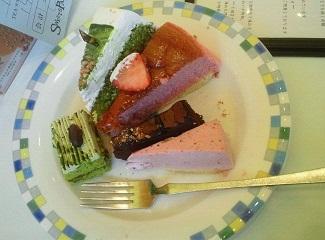 スイーツパラダイス 私の皿