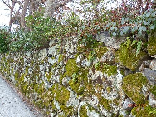 穴太の石積み②130112