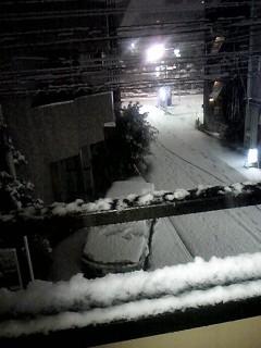2012年1月雪