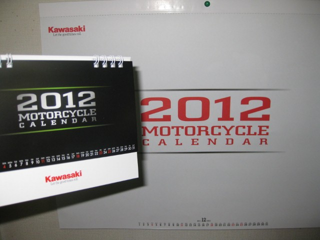 KAWASAKI CALENDER2012