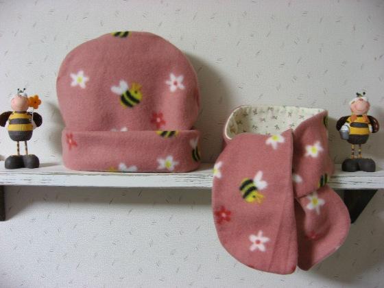 プチマフラー&帽子