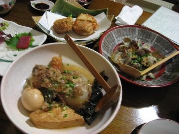 紀庵のお料理