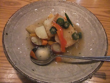 白身魚ソテー